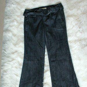 Dark Denim Flare Leg Jeans
